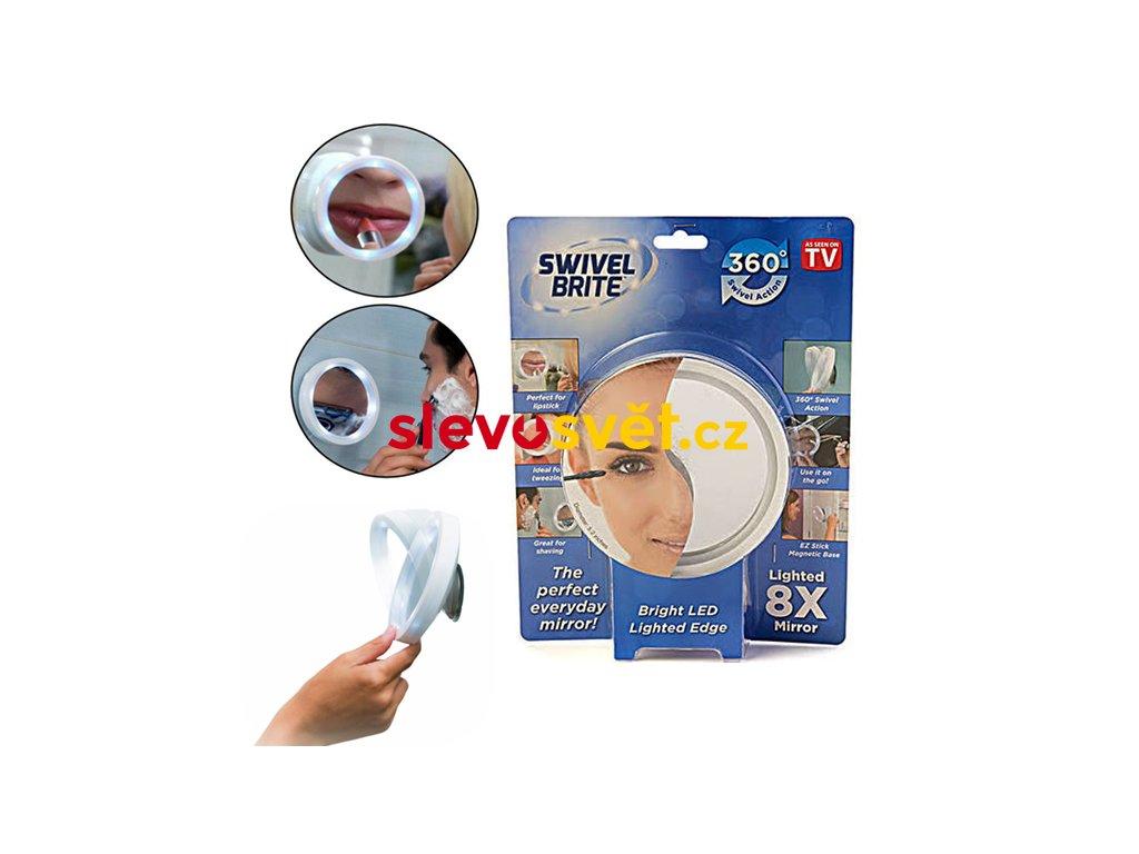 Kosmetické zvětšovací zrcátko