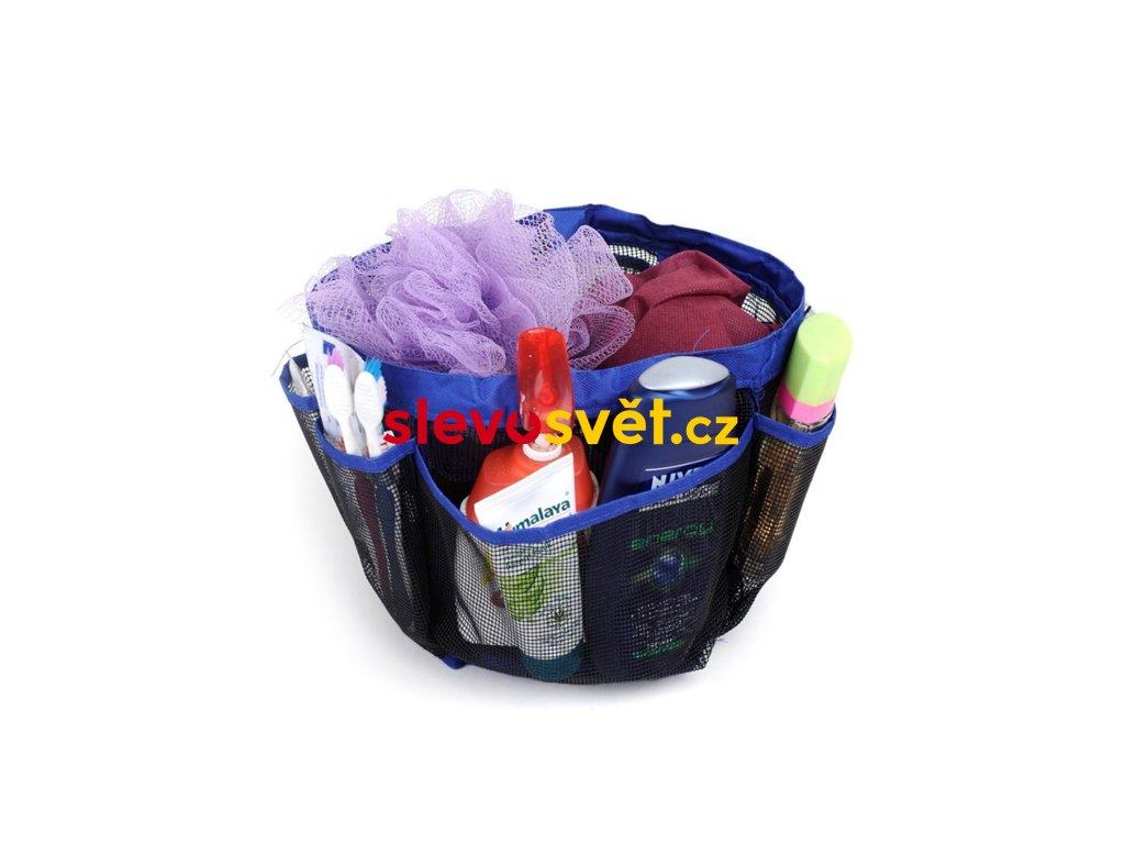 Přenosný organizér do koupelny - Kosmetická taška