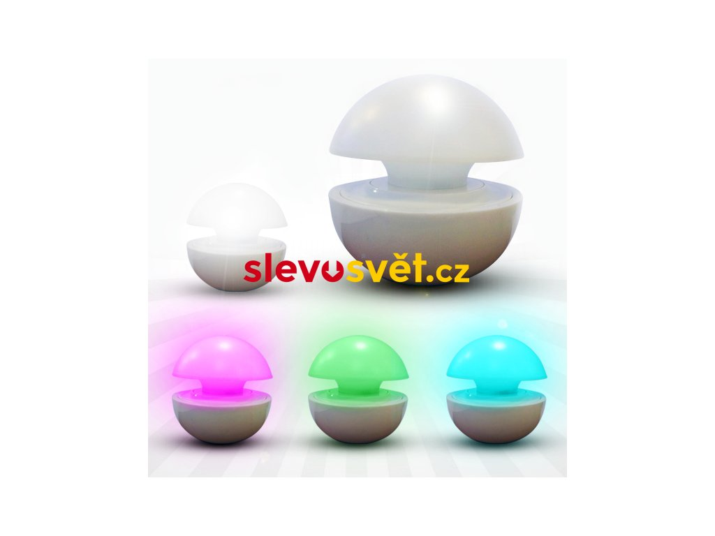 Magická LED lampička - mění barvy
