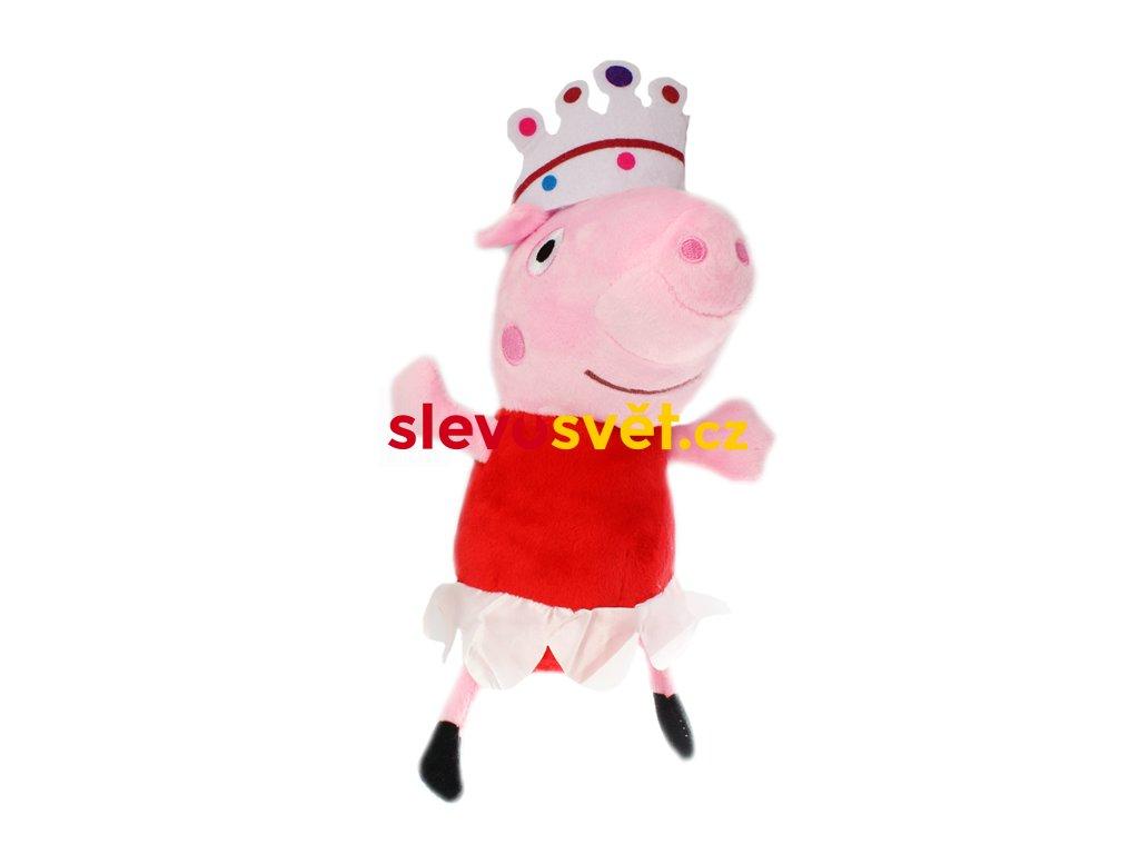 Prasátko Peppa princezna Pepina plyšová hračka 25 cm