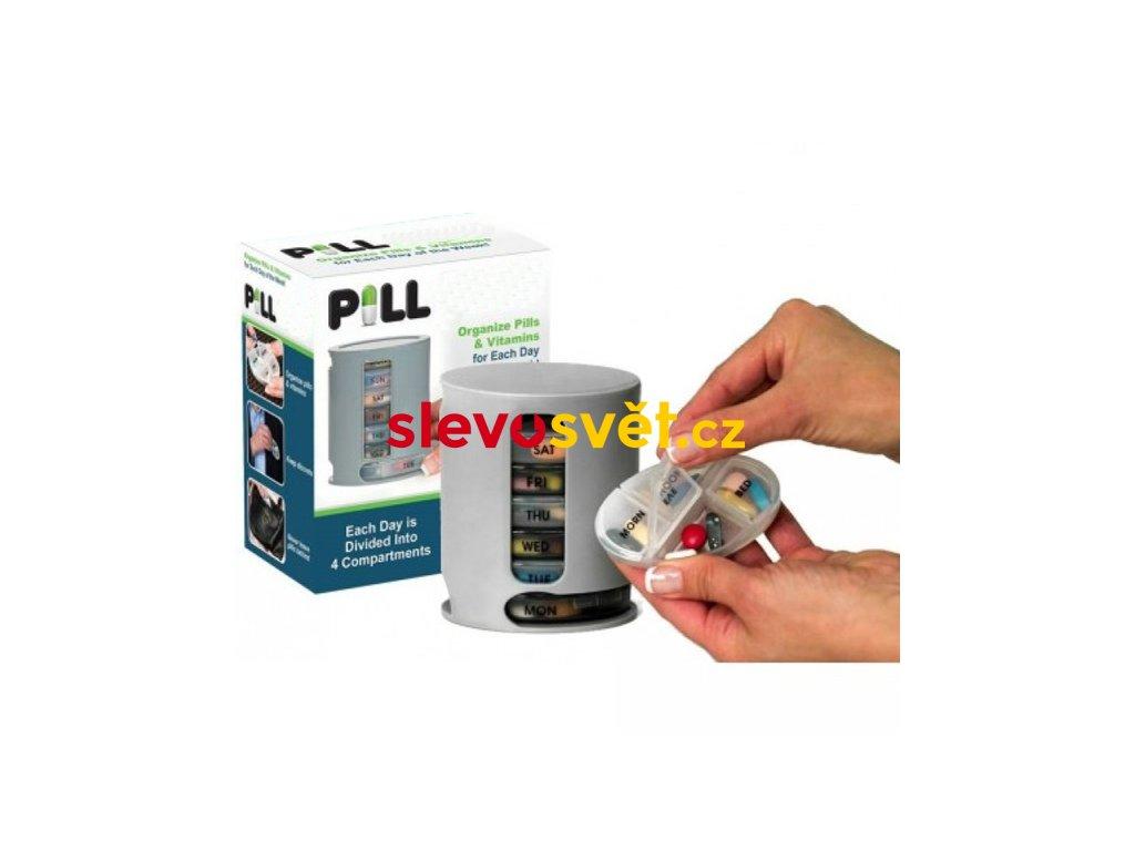 Lékovka týdenní dávkovač na léky Pill Pro