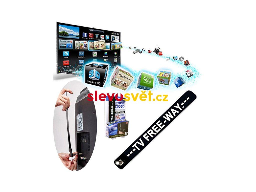 Televizní anténa Free Digital HDTV