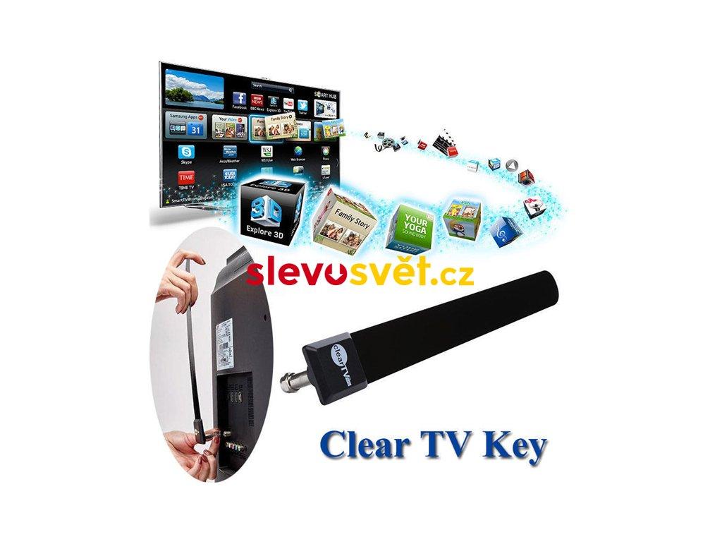 Televizní anténa Clear TV Key Digital HDTV