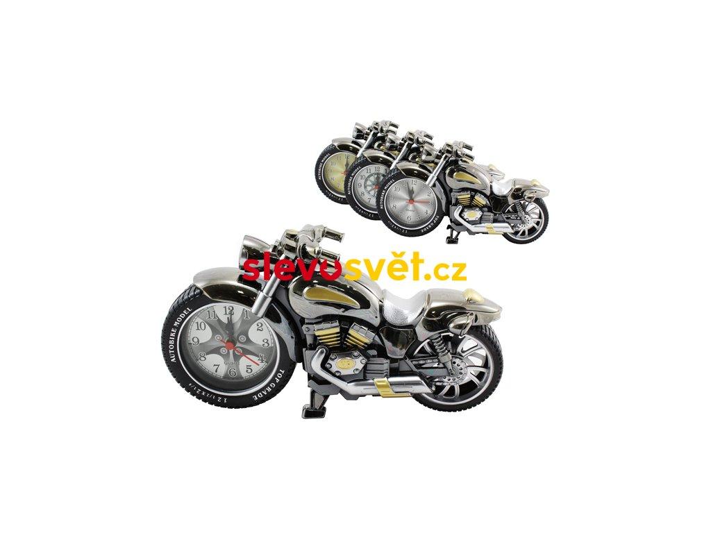 Hodiny / budík motorka
