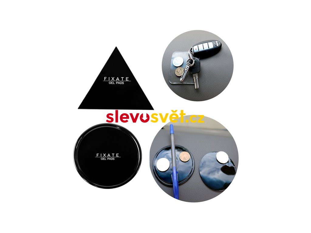 Samolepicí podložka Fixate gel pads
