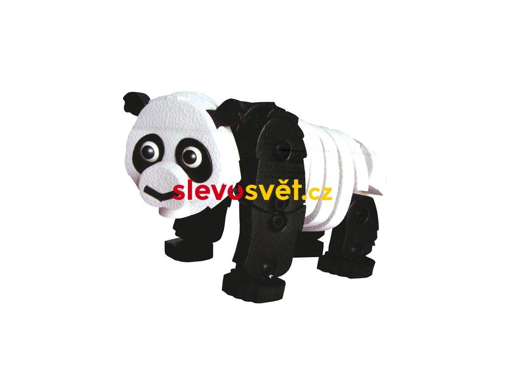 Puzzle pěnové 3D Panda