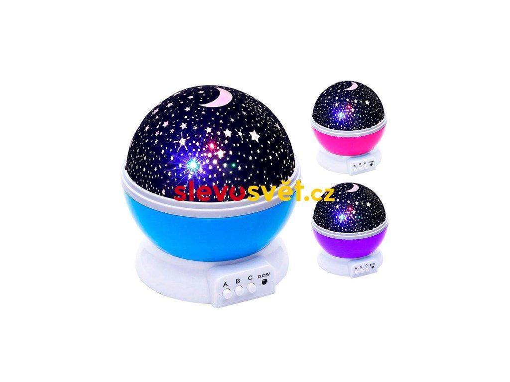 Projektor noční oblohy Deluxe