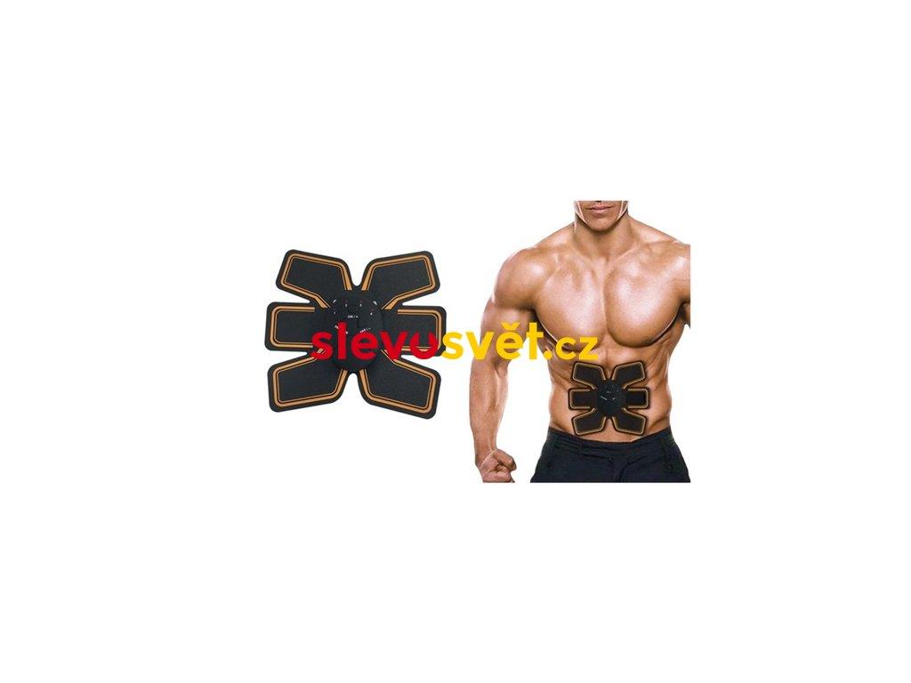 Fitness stimulátor břišních svalů EMS 6 PACK