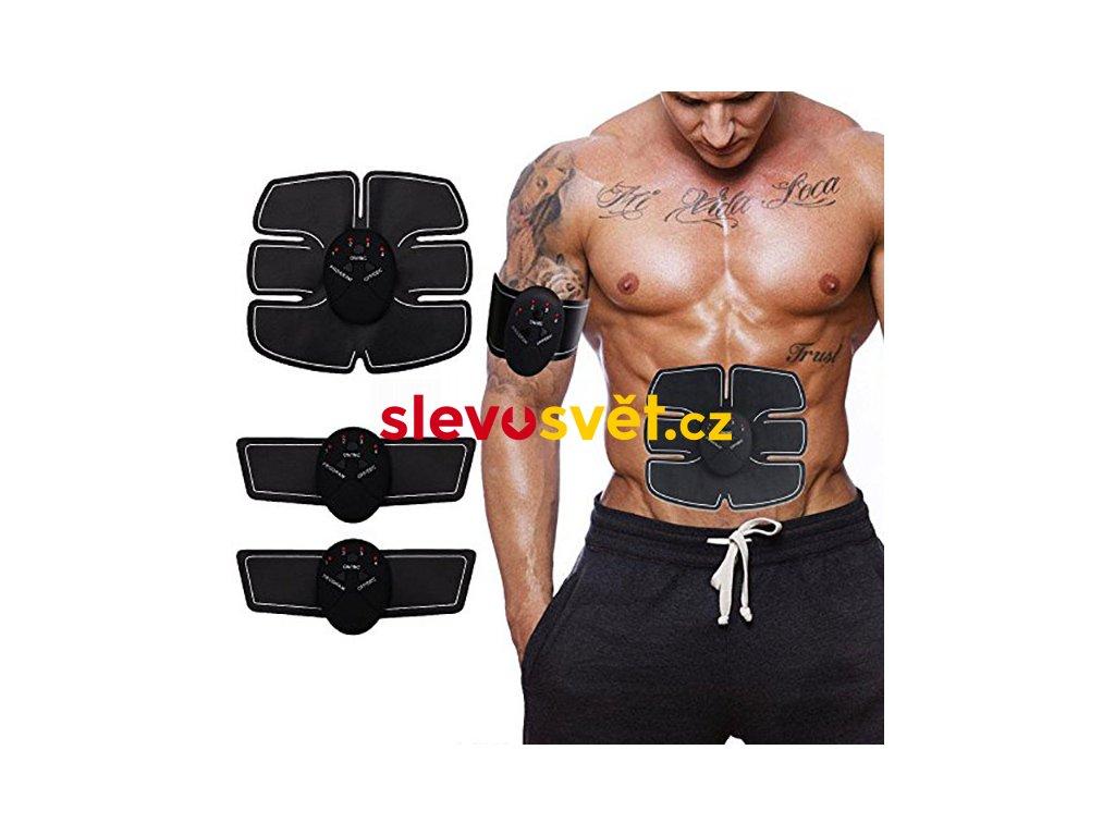 Elektrický posilovač břišních svalů 10 PACK EMS