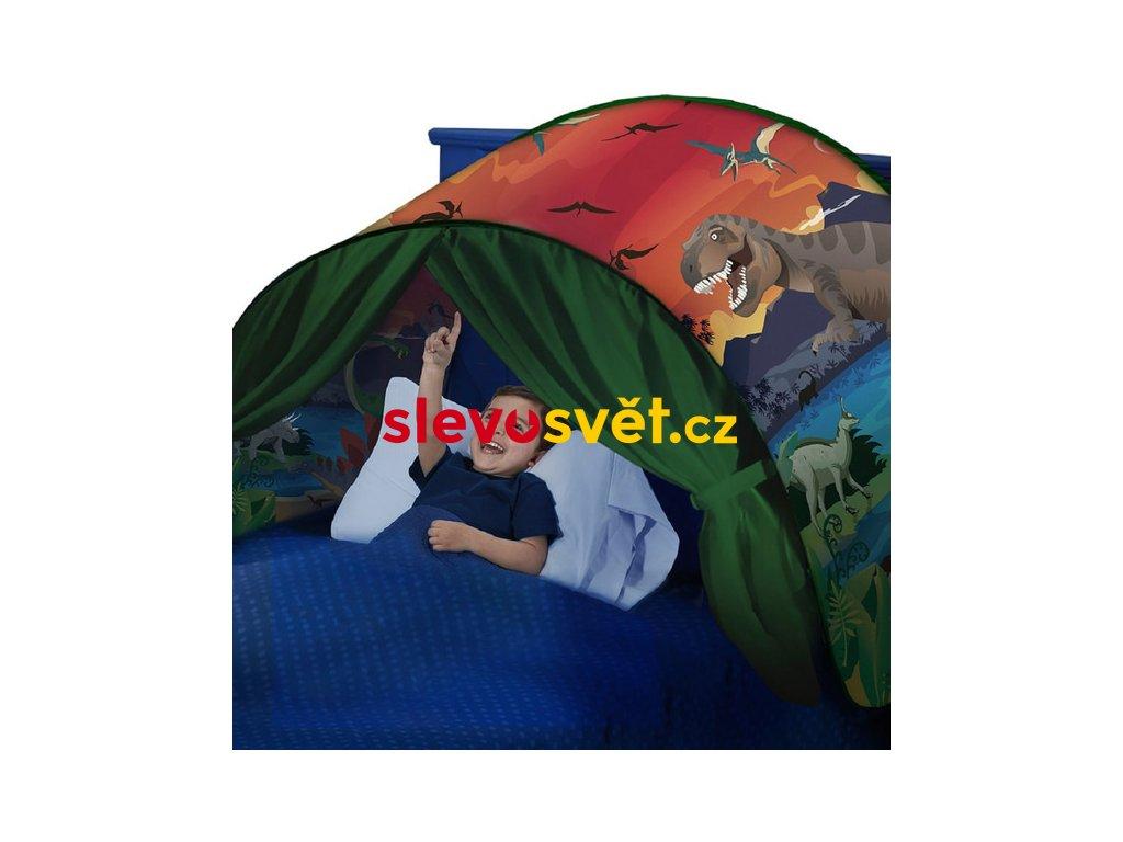 Dětský stan nad postel - Dinosaurus