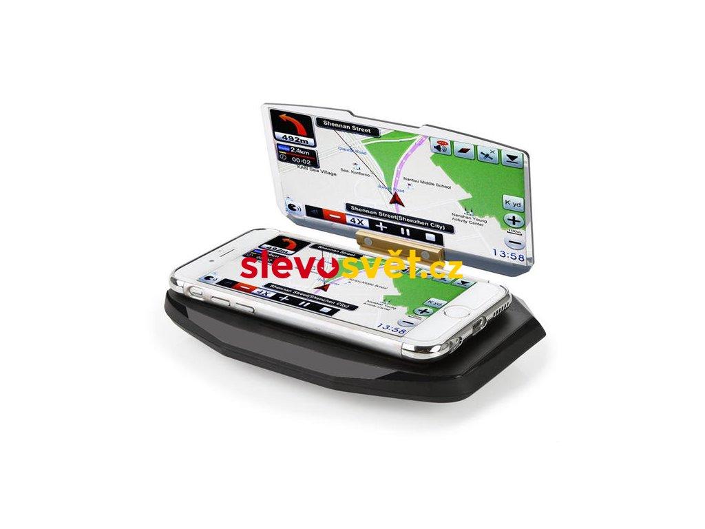 Bezdrátová nabíječka a navigační projekce