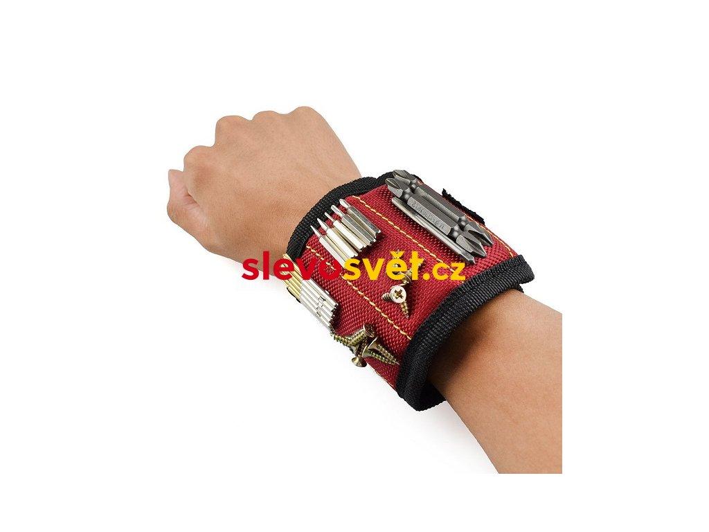 Magnetický držák na ruku na nářadí MAGNETIC WRISTBAND