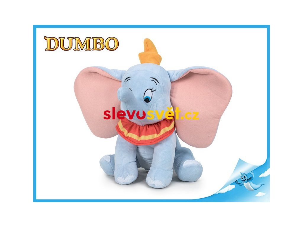 Dumbo slon plyšový 30cm