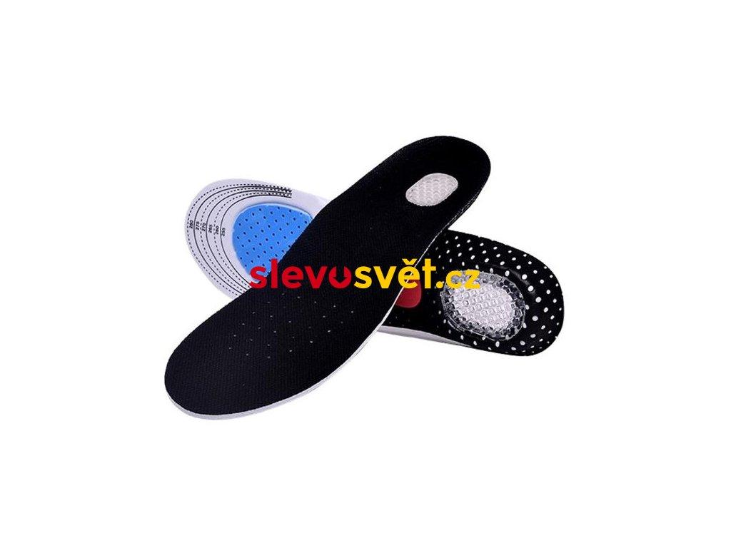 Ortopedické vložky do bot s podporou klenby