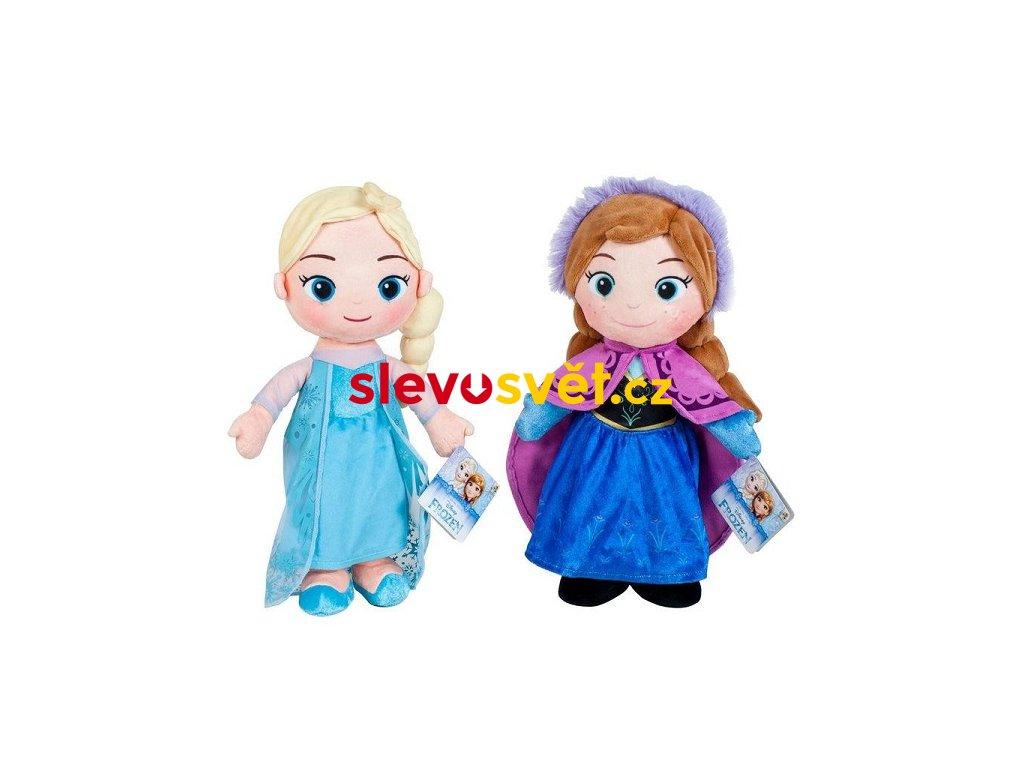 Plyšové panenky Anna a Elsa z pohádky Frozen 30 cm