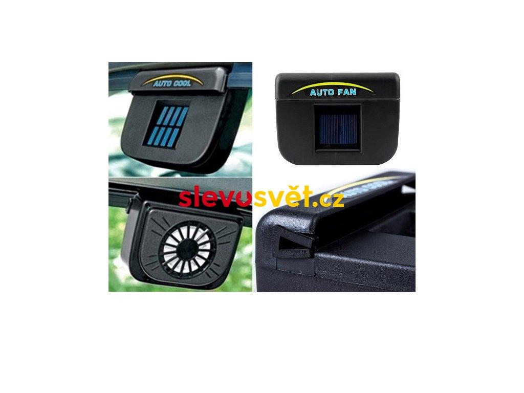 solarni ventilator do auta auto fan