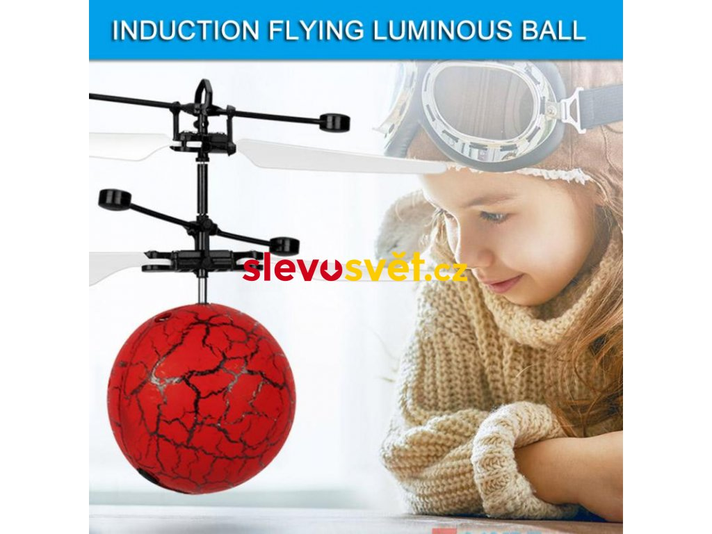 RC Helicopters Burst Crack Flying Ball Magic Electric Helicopter Infrared Sensor LED Light Toys Kids Hover