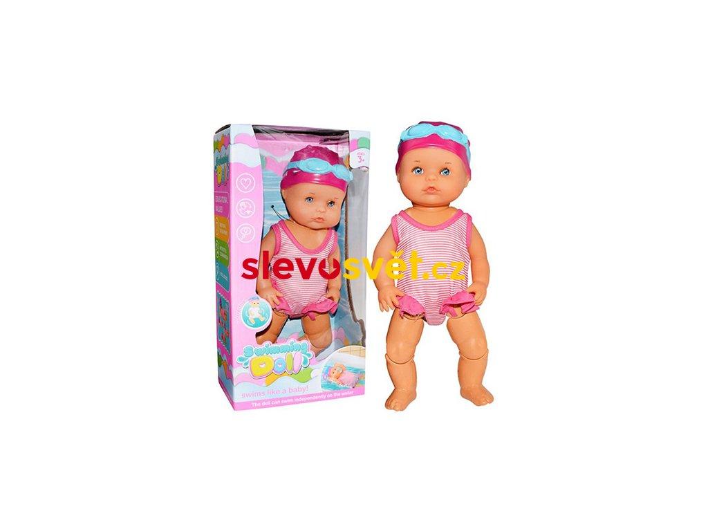 swimming doll