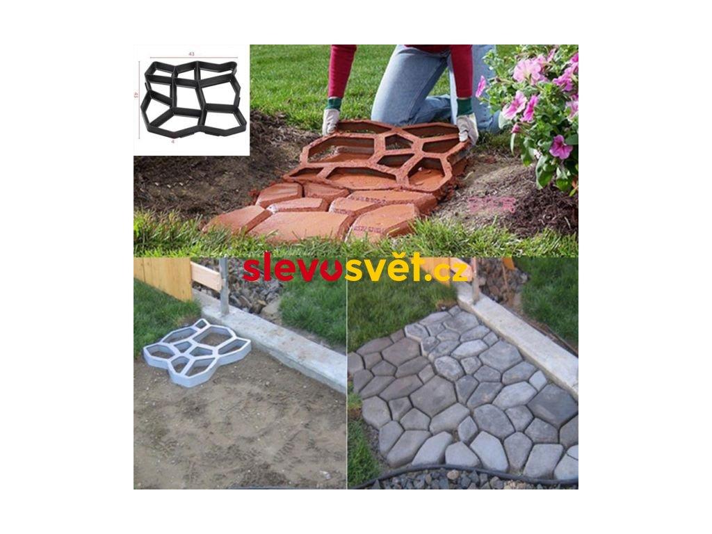 forma na betonove chodniky
