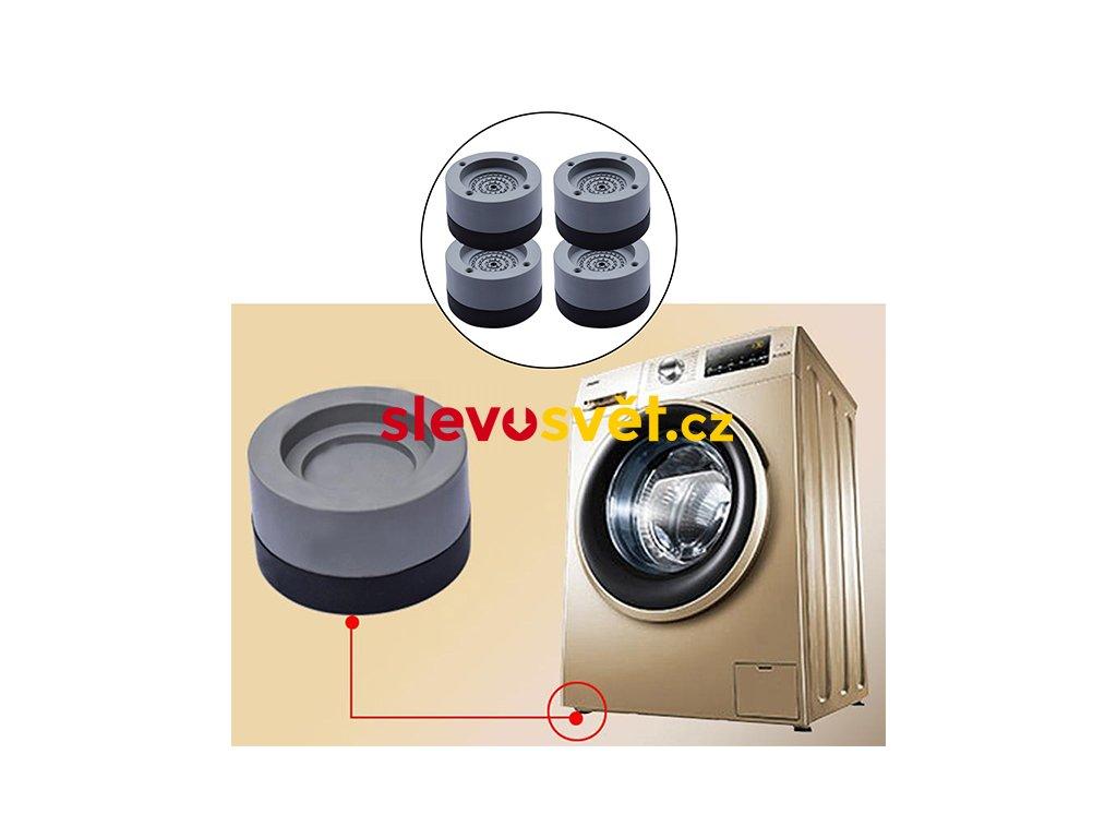 24234 4ks set gumové antivibrační podložky pro pračky