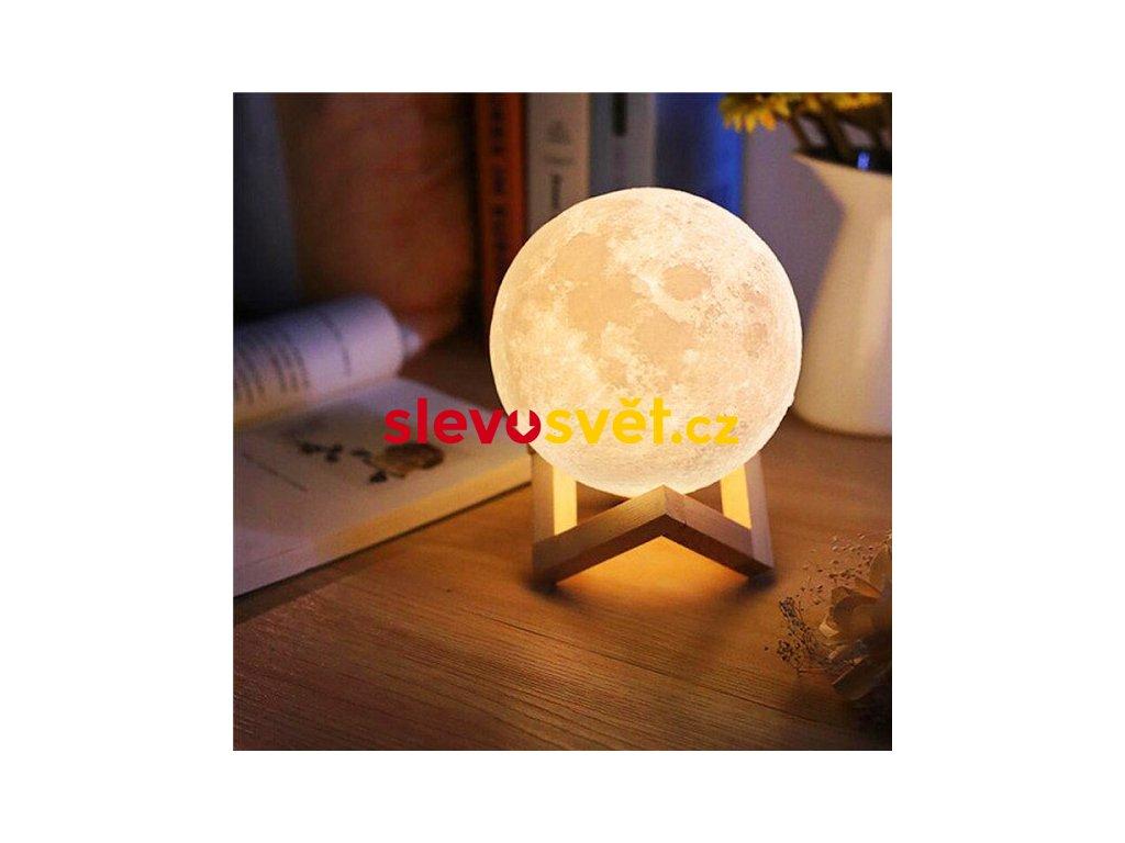 3D Lampička měsíc Moon Light 12 barev