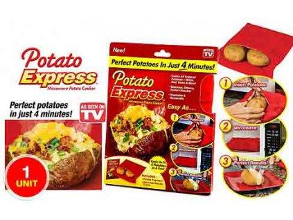Potato Express Sáček na vaření brambor v mikrovlnce