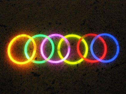 Svítící tyčinky 50 ks
