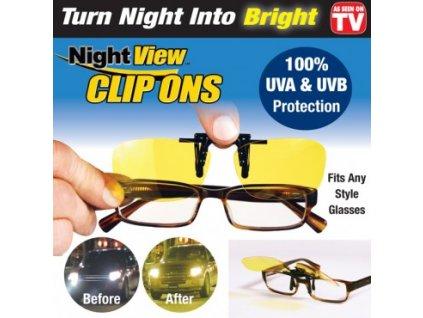 Night view clip on glasses - brýle na noční vidění