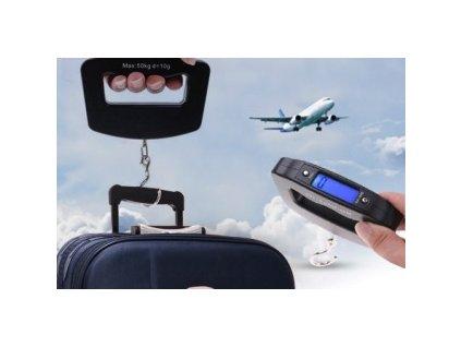 Digitální váha na zavazadla 50 Kg