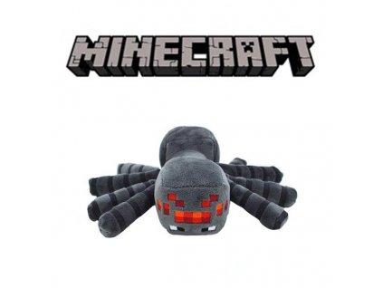 Plyšový Pavouk ze hry Minecraft - 22 cm
