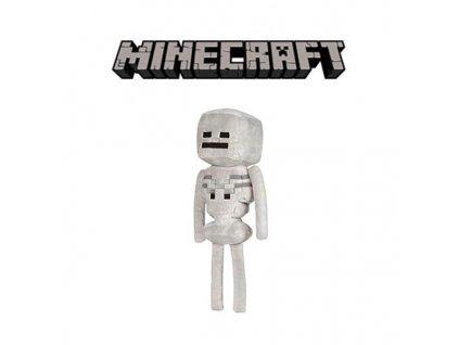 Plyšový Skeleton ze hry Minecraft - 34 cm