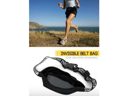 Víceučelová sportovní ledvinka - Invisible Storage belt