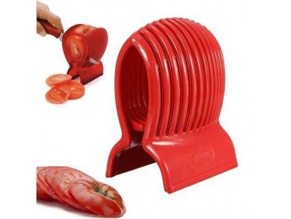 Kráječ na rajče a zeleninu + nůž