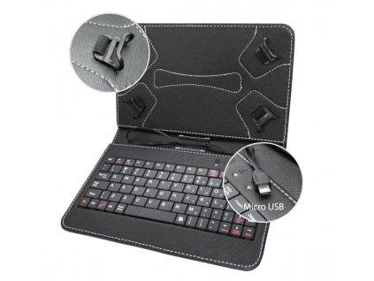 """Pouzdro s klávesnicí pro tablety 7"""""""