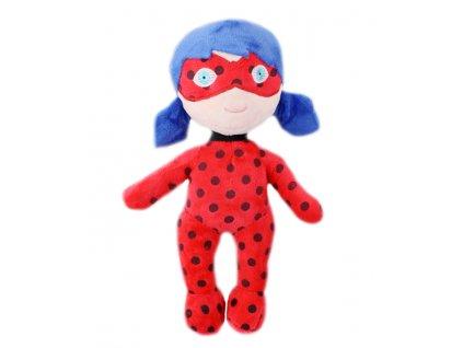 Plyšová postavička Miraculous Ladybug / Zázračná Beruška a Černý kocour 30 cm