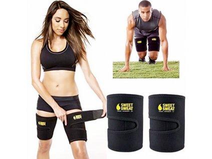 Stehenní bandáž Sweet Sweat Adjustable Trimmer Belt