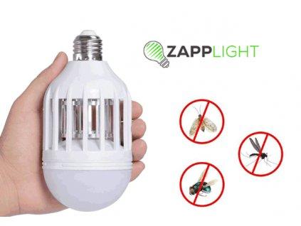 Elektrická lampa s lapačem hmyzu – zapp light