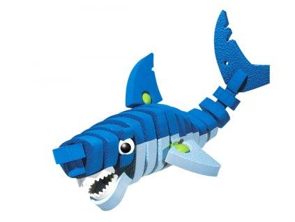 Puzzle pěnové 3D Žralok
