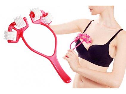 Masážní strojek na prsa