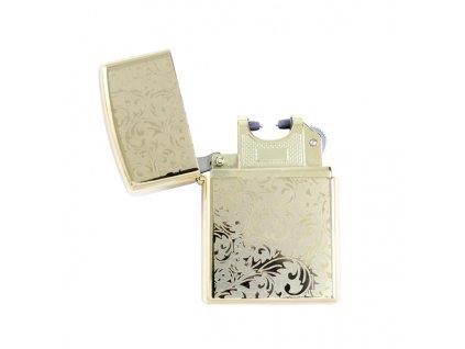 USB plazmový zapalovač Gold 2