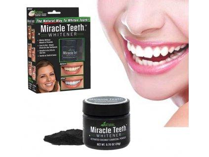 Kokosové uhlí pro bělení zubů Teeth Whitening