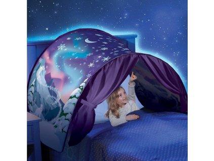 Dětský stan nad postel - Zima