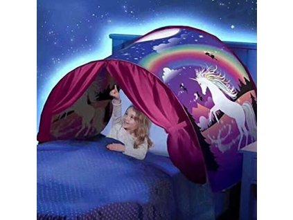 Dětský stan nad postel - Jednorožec
