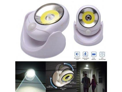 Bezdrátové LED světlo s detektorem pohybu Atomic Angel