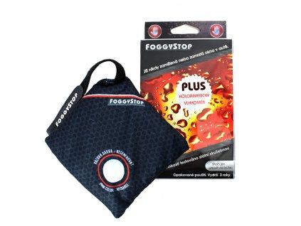 Odvlhčovač do auta FoggyStop + kolorimetrický vlhkoměr