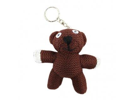 Přívěsek na klíče medvídek TEDDY Mr. Bean