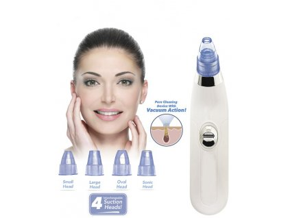 DermaSuction vakuový čistič pleti na černé tečky a akné
