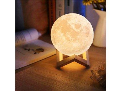 ISO 9509 3D Lampička měsíc Moon Light 8cm