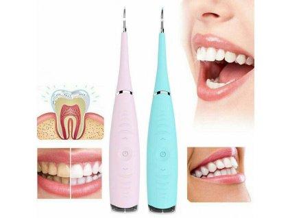 elektricky ultrazvuk na cisteni zubu