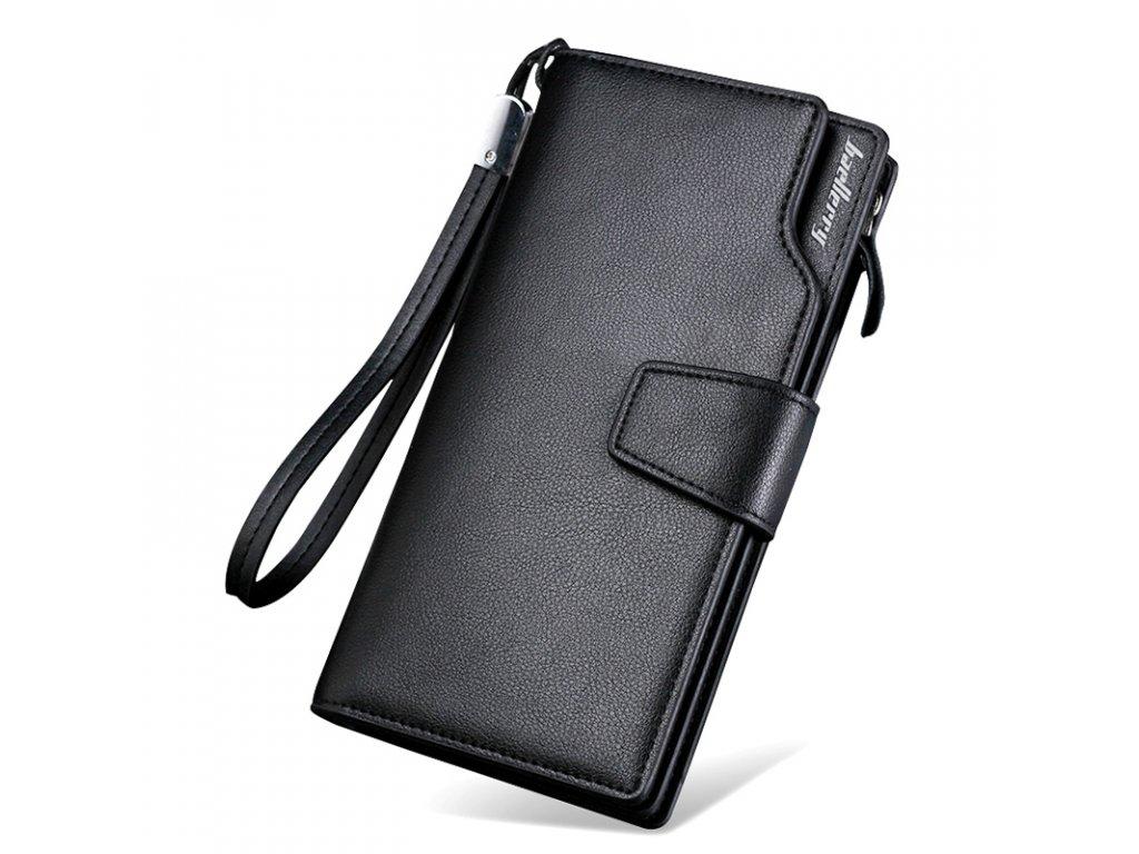 Top Quality leather long wallet men pruse male clutch zipper around wallets men women money bag